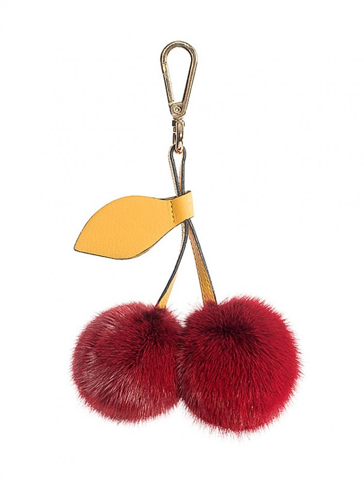 Key Chain - 100% Genuine Fur